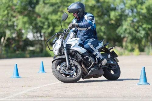 Motorrijbewijspoint Den Helder motor rijtest